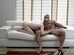 Emma Starletto - Petite Beauty Emma Rammed Raw By Muscular Stud