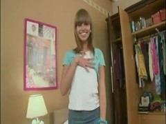 Russian Hawt Legal Age Teenager Gal Like Bonks a Doggy Position in the Arse
