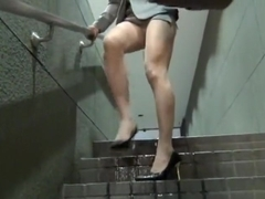 Desperate Wetting in Metro Station