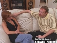 Red Head Petite Slut Wife Ass Fucked!