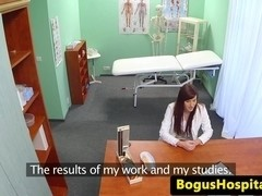 Medical fetish voyeur doc fucks a new start