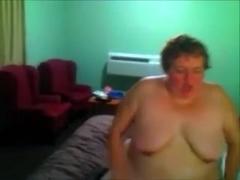 Aged nerdy whore enjoys sucking my BBC in POV video