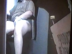 Toilet spy cam is filming a hot girl peeing