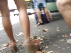 Bare Candid Legs - BCL#055