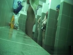 Hidden cameras in public pool showers 677