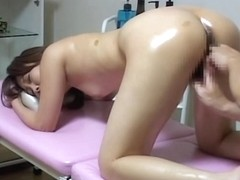 Awesome Japanese sex video of a hot babe toyed hard