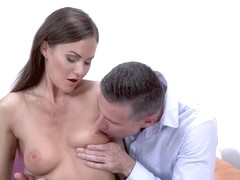 Alluring wife Tina Kay fucks with a stranger