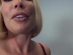 Exotic pornstar Mellanie Monroe in Crazy Stockings, Big Ass sex video