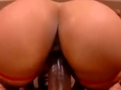 Incredible homemade Black and Ebony, Doggy Style porn clip