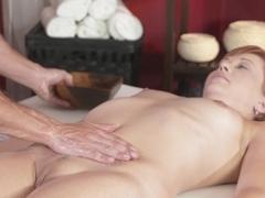 Horny pornstars George, Nadia Bella in Fabulous Cumshots, Massage porn clip