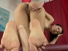 Hottest pornstar Kimberly Kendall in best hardcore, foot fetish adult video