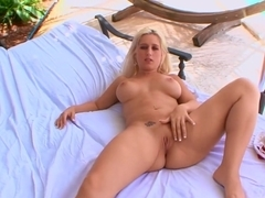 Best pornstar Sammie Spades in horny outdoor, creampie sex scene