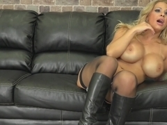 Best pornstars Alyssa Lynn, Ryan McLane in Incredible Facial, Big Tits adult clip