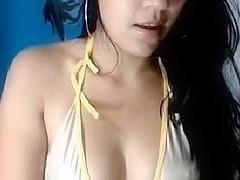 Hawt Indian college beauty Sarita web camera mounds show