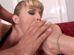 Amazing pornstar in crazy anal, foot fetish sex scene