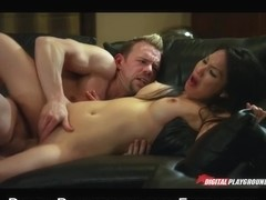 HAWT Oriental bitch Asa Akira likes perspired coarse sex