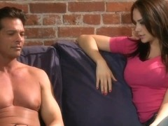 Chanel Preston has romantic sex with dude