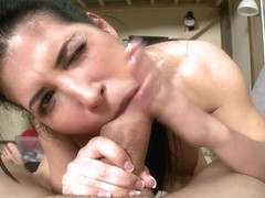 Sexy Latina Blowjob