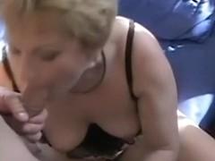 Aged dilettante pair having sex