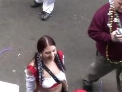 SpringBreakLife Video: Mardi Gras Flashers