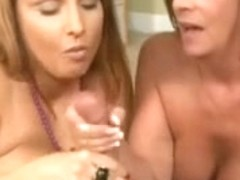 CUM STARVED MILFS BLASTED WITH HUGE FACIAL!!