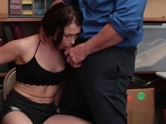 Beautiful Burglar Jennifer Jacobs Sucks Cock And Laid