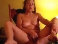 Leslie big climax with big rod
