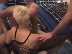 Fucked by 2 guys in front of hubby