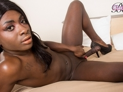 Coco Chyna in Coco Chyna's Solo Play - BlackTGirls