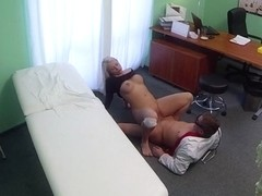 Bamby in Doctors cock heals sexy squirting blondes injury - FakeHospital