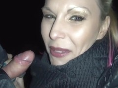 Aische Pervers In Blowjob With 2 Strangers In The Middle Of Berlin