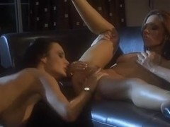 Sluts with big boobs in a nasty lesbo action
