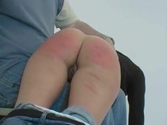 Blonde Girl Spanked