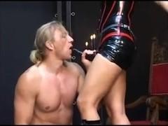 Domina Katja - Merciless Straponfuck