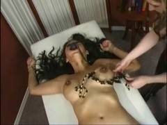 Wicked BDSM treatment from busty domina