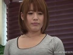 Riko Honda Asian milf amazes dude with her pussy