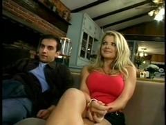 Sexy Vicky Vette Takes Four Man Gangbang
