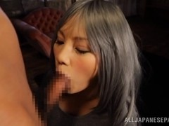Ray is an amazing Asian milf with an insatiable pussy