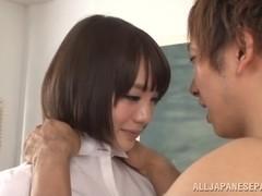 Airi Suzumura Asian teacher gets after school sex special