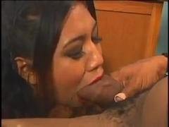 Sexy Asian whore gets a thick one. Beware awful dubbing.
