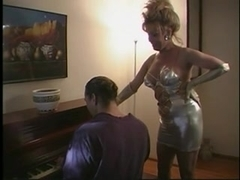 Sexy blonde milf gets deep penetration