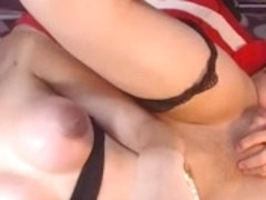 Cute Teen play with a boy