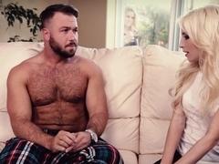 Amazing pornstars Chad White, Piper Perri in Exotic Blonde, College porn movie