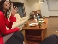 Japanese mother I'd like to fuck in Perverted Stocking
