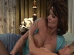 Aged Woman seduces Younger - Fleshly - Belt-on - Part 1