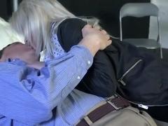 Best pornstar Lolly Gartner in fabulous hardcore, blonde sex clip
