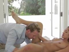 Incredible pornstars Kyra Black and Leanna Sweet in best masturbation, blowjob adult scene