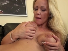 Crazy pornstar Austin Taylor in Incredible Fake Tits, Blonde xxx clip