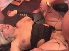 Best pornstar in Incredible Cumshots, Gangbang adult video