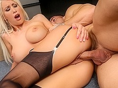 Riley Jenner  & Johnny Castle in Naughty Office